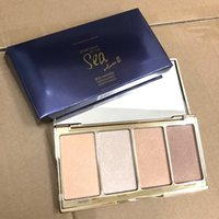 Wholesale sea wear - new makeup rainforest of the sea skin twinkle lighting palette highlighter & Contour Palette 5g!
