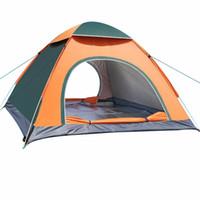 familien-sonnenzelt großhandel-Strand-Ultraleicht-faltendes Zelt-automatisches offenes Zelt-Familien-touristischer Fisch-kampierender Anti-UV voll Sun Shade