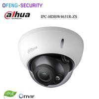 ir tag nacht cctv kamera großhandel-Dahua Motorisierte Zoom Kamera IPC-HDBW4631R-ZS Tag Nacht CCTV-Kamera mit 50M IR-Bereich Vari-Focus-Netzwerk 6mp