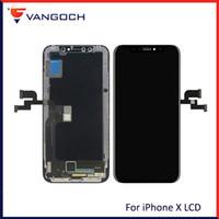 neue tft großhandel-Neue 1: 1 Original Qualität OEM OLED / TFT für iPhone X LCD Anzeige Ersatz mit Gesichtserkennung mit DHL Versand