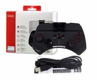 Wholesale Iphone Projectors - iPega PG-9025 9025 Wireless Bluetooth Gamepad Game controller Joystick For iPhone iPad Projector TV BOX Android phones PC