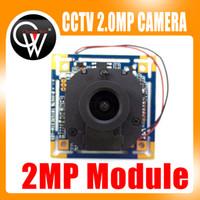 placa de lente da câmera ir venda por atacado-2MP AHD 1080 P 3.6mm lente + IR Cut Módulo Da Câmera 1080 P 2.0MP CCTV PCB Placa Principal