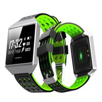 Wholesale fix watches resale online - CK12 Smart Watch FIX Fibit ionic Fitness Tracker Pressure Heart Rate Monitor Sport Activity Waterproof Pedometer Wristband for Android IOS