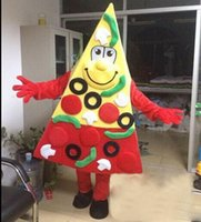 Wholesale pizza factory - 2018 Factory direct sale EVA Material two style Pizza Mascot Costumes Restaurants propaganda Cartoon Apparel Birthday party