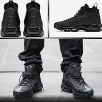 Wholesale Denim Cowboy Boots - Authentic 95 Cushion Mens Boots Hight Top Sneakers Waterproof Maxes 95 Men's Shoes Ankle Boots Size 40-46