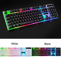 Wholesale gaming notebooks resale online - computer keyboard Backlight game desk type domestic luminescent machine touch notebook USB wired Mechanical Gaming Keyboard