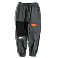 Wholesale mens pants 32 for sale - 2018 Patchwork Pockets Cargo Harem Pants Mens Hip Hop Casual Jogger Tatical Trousers Harajuku Streetwear Male Pants