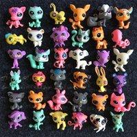 Wholesale q kid - Children Garden Set Toy LPS To Q Pet House Kid Cartoon Movie Toys Littlest Pets Shop Doll Ornaments 1 5db WW