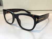 runde schwarze rahmen für gläser großhandel-Luxus 5040 Gläser für Männer und Frauen Designer beliebte Gläser optische Linse Oval runden Full Frame schwarz Schildkröte braun grau mit Fall kommen
