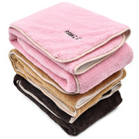 Wholesale high cat beds - 3 Colors Winceyette Pet Blanket Warm Puppy Bed Mat Cover Small Medium Dog Cat High Quality Fabric Cozy Soft Free Shipping