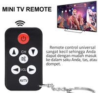 Wholesale infrared keychain resale online - New Key Chain Ring Keychain with Ease Shape Mini Universal Infrared IR TV Sets Keys The TV Remote Control Controllers