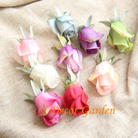 Wholesale Bridesmaid Gifts Bride - Free Shipping 9 colors Simulation Diana Bud rose fake bride bridesmaid bouquet artificial flower romantic Valentine's Day gift MW43626