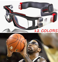 Wholesale Racks Glass - Sports Glasses Basketball Goggles Anti-fog Explosion-proof Eyeglass Frame PC Lenses Myopia Eyewear Frame Rack wholesales free-shipping