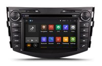 Wholesale Toyota Rav4 Dvd Player Gps - Android 7.1 Car DVD Player Radio for Toyota RAV4 2006-2012 with GPS Navigation Bluetooth USB SD AUX Audio Stereo WIFI