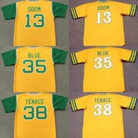 Wholesale 1969 baseball - custom name Men Youth 1969 1973 35 VIDA BLUE 13 JOHN BLUE MOON ODOM 38 GENE TENACE 13 JOHN BLUE MOON ODOM baseball jersey