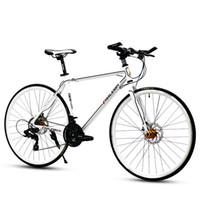cuadros de bicicleta de aleación de aluminio al por mayor-Nuevo Marco de Aleación de Aluminio 700 * 23c SHIMAN0 30 Velocidad Road Bike Deportes Al Aire Libre Racing Cycling Disc Freno Bicicleta