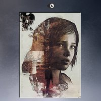 Wholesale The last of us poster Wall Painting picture leaf Home Decorative Art Picture Paint on Canvas Prints