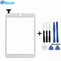 ipad digitizer ferramentas venda por atacado-Netcosy de alta qualidade para ipad mini 3 touch screen digitador painel de vidro reparação para ipad mini 3 mini3 tablet touch panel ferramentas