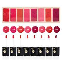 Wholesale wholesale paste lipstick for sale - Minfei Velvet Lip Gloss Glaze Matte Lipgloss Easy to Wear Liquid Bean Paste Lipstick Colors