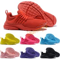 Wholesale design basketball boots for sale - New design Presto Pure black Yellow gray White Casual running shoes For men women Top Quality Outdoor Sneakers Size