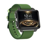 android 5.1 montre intelligente achat en gros de-DM99 Android 5.1 Smart Watch avec MTK6580 prend en charge 3G SIM Wifi GPS fréquence cardiaque Bluetooth Smartwatch 2.2 pouces écran 1.3MP appareil photo 1 Go de RAM 16 Go