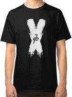 kıyafetler için fırçala toptan satış-Jake Paul Logo Brush Erkek Siyah Tees Gömlek Giyim