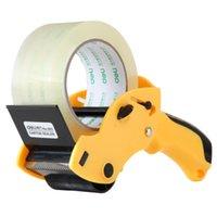 ingrosso macchina di tenuta a mano-QSHOIC Taglierina gialla da 60 mm (non includere nastro) Macchina per l'imballaggio di nastri portatili