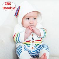 chaquetas infantiles de punto al por mayor-Chevron chica sudadera con capucha SIN niña bebé niño otoño invierno abrigos niños outwear chaqueta 3 colores 4 tamaño
