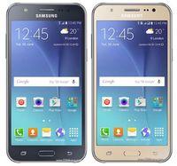 двухъядерные сотовые телефоны с сенсорным экраном оптовых-Оригинал Samsung Galaxy J5 Мобильный телефон J500F J500H Сотовый телефон Quad Core 1.5 ГБ RAM 8 ГБ ROM 5.0