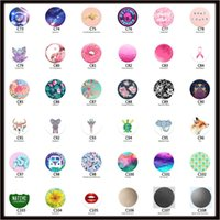 Wholesale innovative styles - Mix Colors Pop air bag support general purpose new innovative mobile phone support ring support simple fashion style