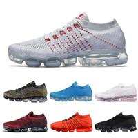 Wholesale trainers size 11 - 2018 Vapormax 2 Plus Rainbow Men Women Shock Acronym Running Shoes Fashion Vapor 2.0 Chaussures Mens Trainers Sports Sneakers Size 5-11