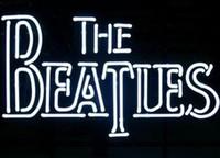 ingrosso batte il segno al neon-Custom New The Beatles Glass Neon Sign light Birra Bar Sign Invia bisogno di foto 19x15