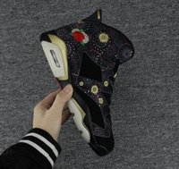 Wholesale Chinese Army - 2018 Air 6 Chinese New Year Men Basketball Shoes,High Quality Gatorade University Blue Black Infrared Sport Sneakers Size 41-47