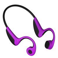 micrófono al aire libre al por mayor-¡48 horas! Bluetooth 5.0 S.Wear Z8 Auriculares inalámbricos Auriculares de conducción de hueso Auriculares de deporte al aire libre con micrófono con caja