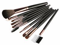 Wholesale comb eyelashes resale online - MAANGE Kit Makeup Brushes Set Eye Shadow Powder Blending Blush Eyebrow Comb Eyelash Lip Cosmetic Beauty Make Up Brush Tool