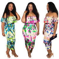 Wholesale large women sexy clothing for sale - 2018 Sexy Party Dress Women Vestidos Backless strapless hip dress large size bandage bodycon dresses summer dress plus size women clothing