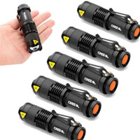 Wholesale torch adjustable focus for sale - Group buy 1PC LM Superlight CREE Q5 LED Flashlight Mini Torch Adjustable Focus Zoom FlashLight