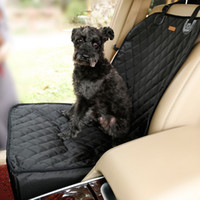 Wholesale Waterproof Dog Car Seat to Protect from Pet Hair Mud and Dirty Paws with Prime Grade Nylon Tarps Fabric Pet Booster Seat