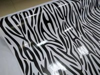 Wholesale zebra printed animals online - Impressive Zebra Camo Vinyl For Car Wrap With air bubble Free Printed PAINTED Camouflage Car wrapping stickers x10m m m Roll