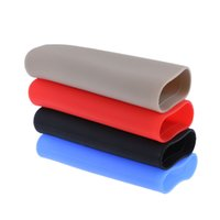 Wholesale parking cover - 1PC 2018 HOT NEW Arrivals!!! Universal Auto Car Hand Brake Parking Sleeve Silicone Gel Anti-Slip CAR COVER Case
