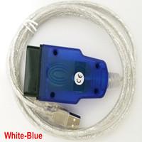 Wholesale interface chip usb online - Vag KKL USB For FT232RL Chip USB Interface OBDII Plug J1962 Pin Male USB Port Enabled Colors