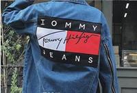 chaqueta de mezclilla equipada de los hombres s al por mayor-2017 hombres de la chaqueta de mezclilla de moda Jeans Chaquetas Slim Fit casual Streetwear Vintage Vintage Mens GOSHA Jean Jacket ropa