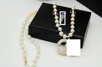 accesorios personalidad al por mayor-Nueva personalidad rhinestone carta collar collar joyería diseñador regalo fiesta accesorios de moda