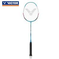 griff für badmintonschläger großhandel-100% Original Victor Carbon Badminton Schläger Raquette Badminton mit Griff Schläger