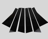 peças de jipe venda por atacado-Acessórios para automóveis janela de coluna de cromo guarnição molduras modificadas peças externas PC superfície brilhante PARA JEEP Cherokee