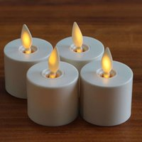 Wholesale flameless votive candle - Luminara Flameless Tea Lights LED Votive Candles With Timer 1.4 X 2 Inch Ivory 4