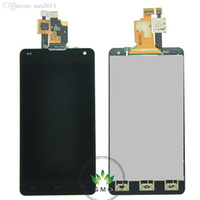 Wholesale Optimus G Digitizer - Wholesale-LCD Screen For LG Optimus G LS970 E975 E973 E977 F180K F180S F180L LCD With Touch Screen Digitizer Assembly Free Shipping
