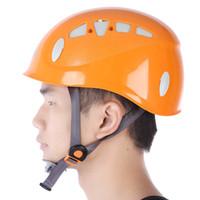xinda climbing оптовых-XINDA XD - 8614 регулируемая Скалолазание шлем безопасности спелеология спасательные вброд езда горные оборудование легкий и удобный