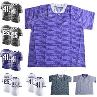 Wholesale frog custom - TCU Horned Frogs Football 7 Kenny Hill Jersey Make Custom College 46 Jonathan Song 6 Darius Anderson 1 Jalen Reagor 41 Jonathan Anderson