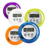 neuheit digitale küche timer großhandel-Küche Kochen Timer Countdown Wecker Mini Neuheit LCD Digital Timer Erinnerung für Kochen Studie Schönheit